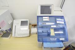 血ガス測定機・HbA1C測定機